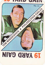 1971 TOPPS FOOTBALL GAME Card  lot of 8 cards