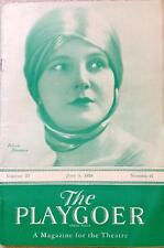 June 9, 1929 The Playgoer, Theatre Magazine, Detroit, Michigan - FULL MAGAZINE