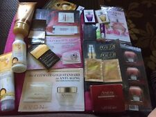 AVON Lot OF Full Size/Samples/Anew/Footworks/Skin So Soft/Lip Balm/Perfume
