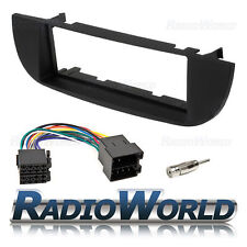 FIat 500 Stereo Radio Fascia / Facia Panel Fitting KIT Surround Adaptor (Black)
