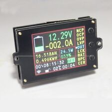 120V 50A wireless VOLT AMP temperaturecoulombcapacitypower battery Monitor
