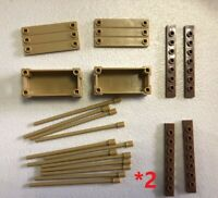 Mega Bloks loose MOC Mixed Parts Pieces  Building Blocks Bricks DIY TOY 2 packs