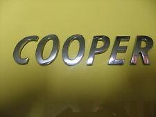 MINI COOPER LETTERING EMBLEM