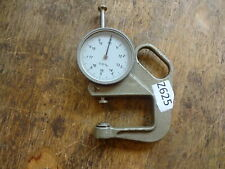 More details for thickness gauge / metric to 20mm, indicator clock dial gauge