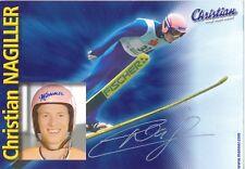 Christian Nagiller   Skispringen Autogrammkarte signiert WL 339166