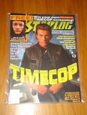 STARLOG #206 SCI-FI MAGAZINE SEPTEMBER 1994 TIMECOP JEAN-CLAUDE VAN DAMME MASK