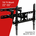 TV Wall Mount Bracket 22 27 32 37 40 42 46 47 50 55 Swivel LCD LED Full Motion