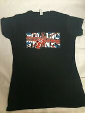 THE ROLLING STONES It's Only Rock & Roll British T-Shirt Women's Size Medium