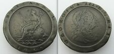 Collectable 1797 Two Pence Coin Of King George III - Soho Mint Cartwheel Coinage