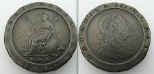 Da collezione 1797 due Pence Moneta di Re Giorgio III-SOHO Nuovo di zecca Cartwheel CONIO