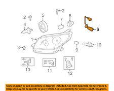 Scion TOYOTA OEM 08-14 xD Headlight Head Light Lamp-Socket & Wire 8113852890