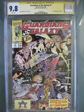 Guardians of the Galaxy #1 CGC 9.8 WP SS **Signed Jim Valentino** 1st Taserface