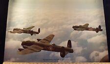 "Avro Lancaster B1s No.44 Rhodesia Squadron Imperial Museum 20""x30"" color Poster"