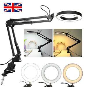 USB LED Makeup Beauty Eyelash Extension Nail Salon Tattoo Lamp Clamp Desk Light