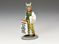 """King and Country """"JACK THE RIPPER STRIKES AGAIN!"""" Newspaper Seller WoD057"""