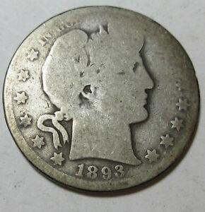 1893-O Barber Half (#128U)