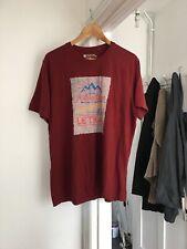 Mountain Warehouse Size L Large Burgundy Short Sleeve T-Shirt.   (b3)