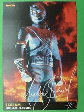 POPCORN Autogrammkarte - Michael Jackson - autograph (Unterschirften aufgedruckt