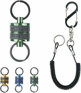 Maxcatch Fishing Magnetic Net Release with Lanyard for Fly Fishing Landing Net