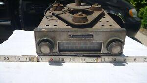 Vintage AM FM tractor cab radio