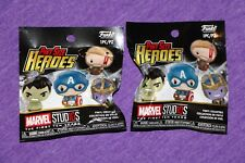 Marvel Collector Corp Pint Size Heroes Gold Thanos & Gold Thor New Exclusive