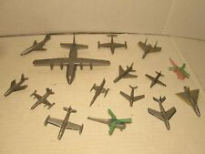 L@K Estate Find Lot Of 15 Toy Planes & Helicopters 1950'S/1960'S Or So $10 !