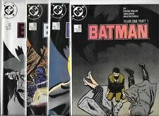Batman #404, #405, #406 & #407   Lot of 4 (1987, DC Comics)