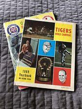 1968 World Series Program Detroit Tigers St Louis Cardinals '69 Detroit Yearbook
