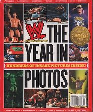 WWE Special Edition The Year in photos 2011 John Cena, Edge EX 123115DBE