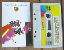 MAX MIX Original Extended Mixed Version (1986) MC TAPE ORIGINALE 30 COM 20524