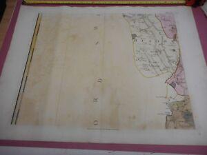 100% ORIGINAL CLAVERING MAUNDEN BERDEN ESSEX SHEET 6 MAP BY CHAPMAN ANDRE C1777