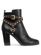 MICHAEL Michael Kors Preston Leather Booties Size 6.5 MSRP: $225.00