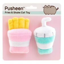 Pusheen Fries And Shake Cat Toy, New