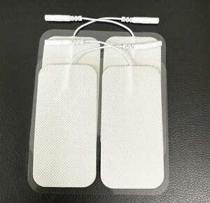 4/8 Pcs Large Tens Unit Replacement Electrode Pads For Muscle Stimulator Machine