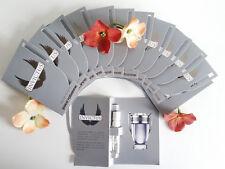 PACO RABANNE INVICTUS 12 Pcs.SPRAY VIALS EAU DE TOILETTE FOR MEN 0.05fl.oz/1.5ml