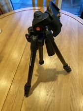 Manfrotto Carbon BLK WITH 3W HEAD Tripod