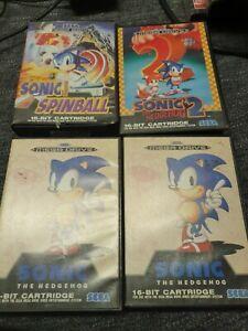 Sega MegaDrive 4 Game Bundle Joblot Sonic