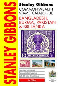 Stanley Gibbons Bangladesh, Burma, Pakistan & Sri Lanka Stamp Catalogue