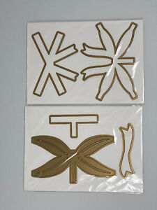 """Anna Griffin 5x7"""" 3D Bow Gift Present Embossing Stencil Cutting Dies"""