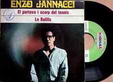 "ENZO JANNACCI / EL PORTAVA I SCARP DEL TENNIS - LA BALILLA - 7"" (1969) VG+/EX"