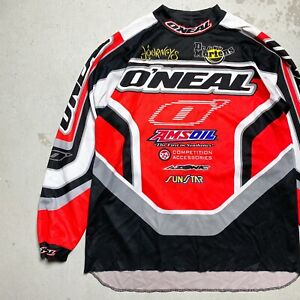Vintage 2001 O'Neal Racing Factory Connection Honda Motocross Jersey Large - fox
