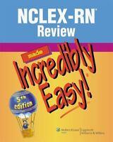 🔥 LATEST Nclex-Rn Review Made Incredibly Easy! 5th 🔥 PDF🔥 FAST del BONUS