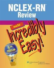 Nclex-Rn Review Made Incredibly Easy! by Producer-Springhouse 5th Edition