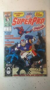 NFL SuperPro #1 - Spider-Man Appearance! (1991) Marvel Comics OCT 1