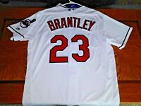 Michael Brantley Authentic Cleveland Indians Jersey size 48 ASTROS