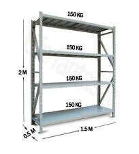 Light duty 1200kg Garage Shelving Long Span Steel Warehouse Longspan Storage