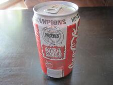 1994 Houston Rockets Coca Cola Can NBA World Champions