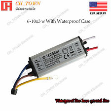 Constant Current LED Driver 20W DC 18-35V 600mA Lamp Waterproof Power Supply