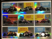 2020 Topps Chrome Formula 1 F1 1954 World of Wheels Inserts pick from list