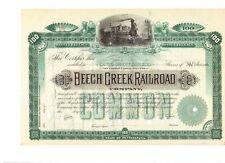 Beech Creek Railroad Company   18__